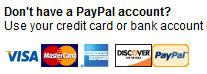 PayPal non member use
