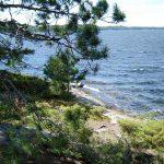 Burntside Lake Ely, Minnesota Listening Point