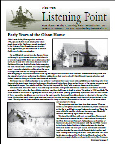 Listening Point Newsletter